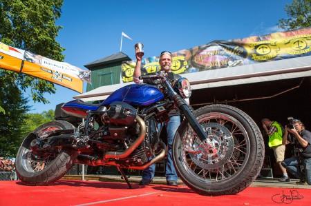 Umbau der nineT von Unique Custom Cycles. Foto: (c) Jenny Jurnelius