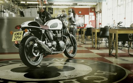Triumph Thruxton Ace Special Edition 2014-5