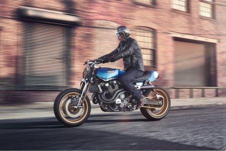 Yamaha XJR1300 Rhapsody in Blue Konzept 2014 (2)