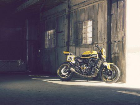 """Ich war mal eine Yamaha MT-09 - Roland Sands baute das Naked Bike gemäß """"Faster Sons"""" um."""