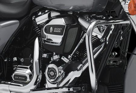 Der neue Motor bietet wieder das typische Harley-Erscheinungsbild, soll sich aber in allen Bereichen gegenüber dem Vorgänger verbessert haben.