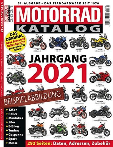 Motorrad Neuheiten 2021 Katalog